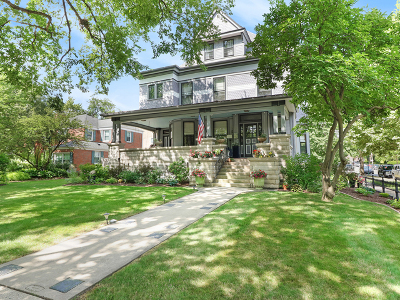 Oak Park Single Family Home For Sale: 175 North Euclid Avenue