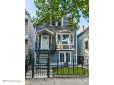 Chicago Single Family Home New: 2036 West Melrose Street