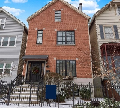Chicago Single Family Home New: 3039 North Southport Avenue