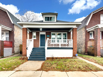 Chicago IL Single Family Home New: $195,000