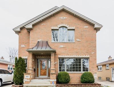 Norridge Single Family Home New: 4921 North Ozark Street
