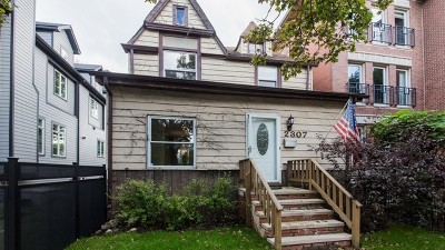 Single Family Home For Sale: 2307 West Montrose Avenue