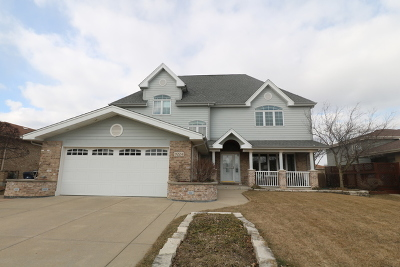 Orland Hills Single Family Home For Sale: 9224 170th Street
