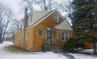 Chicago IL Single Family Home New: $105,000