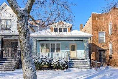 Single Family Home New: 11246 South Indiana Avenue