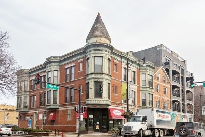 Chicago Condo/Townhouse New: 1658 West Belmont Avenue #3E