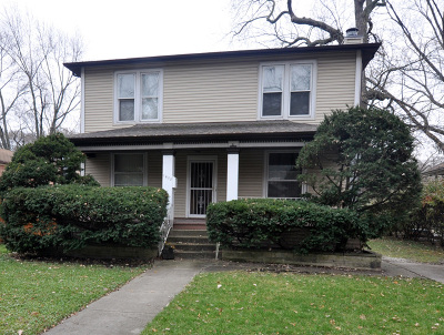 Chicago Single Family Home New: 1653 West 104th Place