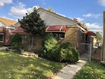 Chicago Single Family Home New: 4611 South La Crosse Avenue