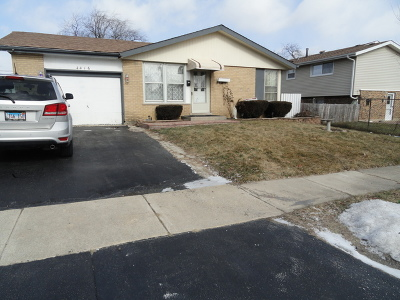 Oak Forest Single Family Home For Sale