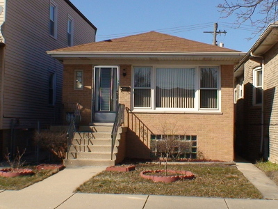 Chicago Single Family Home New: 5830 West Giddings Street