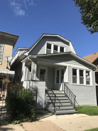 Chicago Multi Family Home New: 5112 West Grace Street