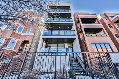Chicago Condo/Townhouse New: 1459 West Grand Avenue #4