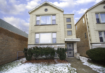 Chicago Multi Family Home New: 2823 West 71st Street