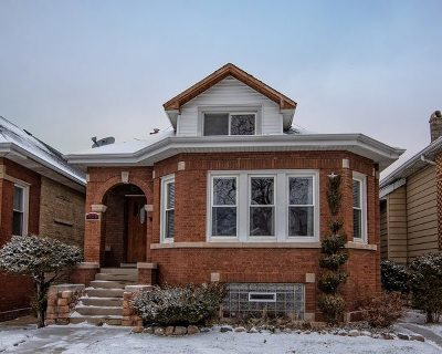 Chicago Single Family Home New: 5322 West Wellington Avenue