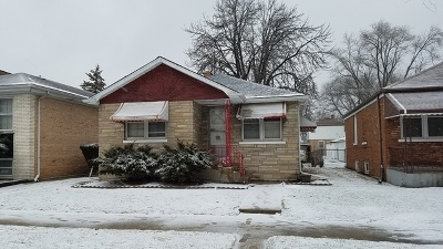 Bellwood Single Family Home For Sale: 3825 West Congress Street