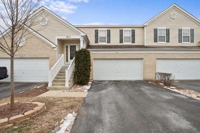 Plainfield Condo/Townhouse For Sale: 5012 Norwalk Court #5012