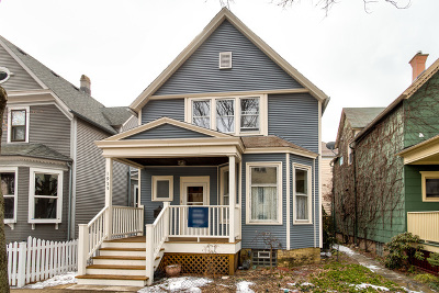 Chicago Single Family Home Price Change: 1955 West Cornelia Avenue