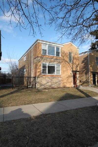 Chicago Multi Family Home New: 6087 North Sauganash Avenue
