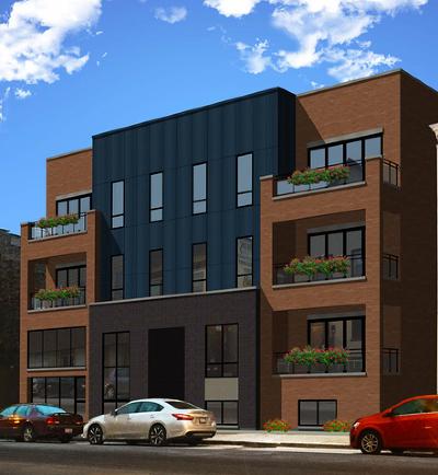 Chicago Condo/Townhouse New: 3016 West Belmont Avenue #1NE