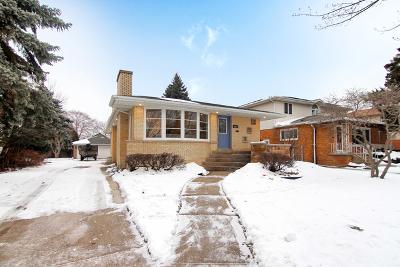 Oak Lawn Single Family Home New: 4612 West 100th Street