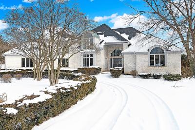 Burr Ridge Single Family Home New: 6400 Hillcrest Drive