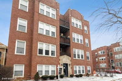 Chicago Condo/Townhouse New: 4054 North Albany Avenue #G