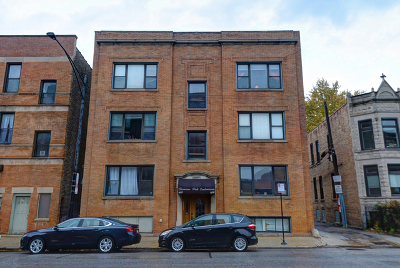 Condo/Townhouse For Sale: 1466 West Irving Park Road #2E