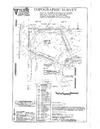 Lake In The Hills Residential Lots & Land For Sale: 4745 Saginaw Street
