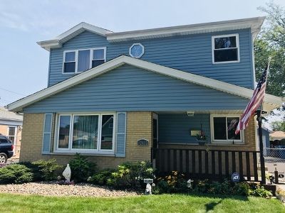 Alsip Single Family Home For Sale: 12413 South Orchard Street