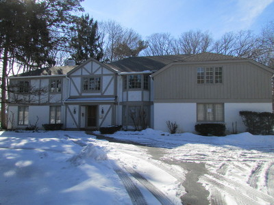 Lake Forest Single Family Home New: 1380 North Green Bay Road