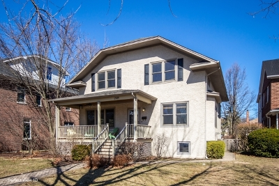 Wilmette Single Family Home New: 1504 Central Avenue