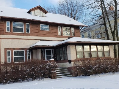 Evanston Single Family Home For Sale: 1239 Asbury Avenue