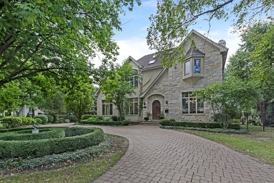 Hinsdale IL Single Family Home New: $1,499,000
