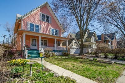 Evanston Single Family Home New: 715 Foster Street