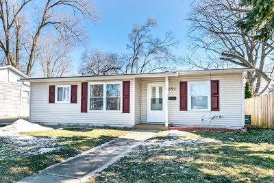 Aurora Single Family Home New: 891 Foran Lane