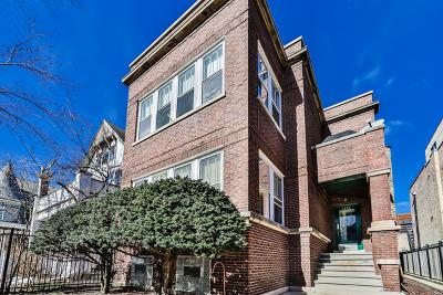Multi Family Home Contingent: 1458 West Belle Plaine Avenue