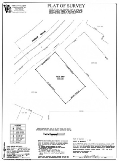 Mc Henry County Residential Lots & Land New: Lot 255 Timber Drive