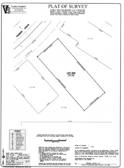 Mc Henry County Residential Lots & Land New: Lot 256 Timber Drive