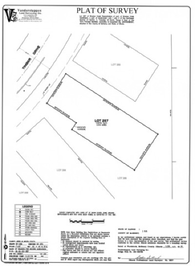 Mc Henry County Residential Lots & Land New: Lot 257 Timber Drive