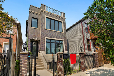 Wicker Park, Bucktown Single Family Home For Sale: 2128 North Winchester Avenue