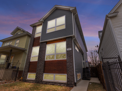 Chicago Single Family Home New: 4702 North Kewanee Avenue