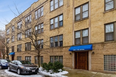 Chicago Condo/Townhouse New: 1205 West Lill Avenue #2
