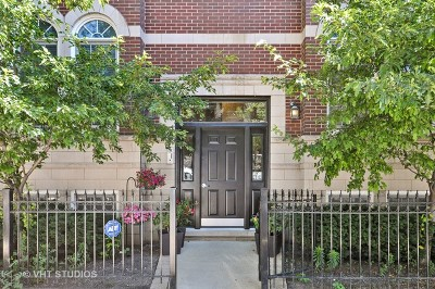 Chicago Condo/Townhouse New: 1545 North North Park Avenue #3N