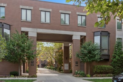 Chicago Condo/Townhouse New: 1445 North Cleveland Avenue #A