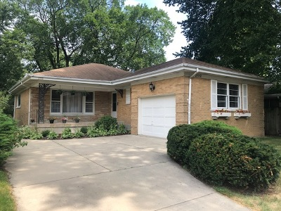 Wilmette Single Family Home For Sale: 2132 Lake Avenue