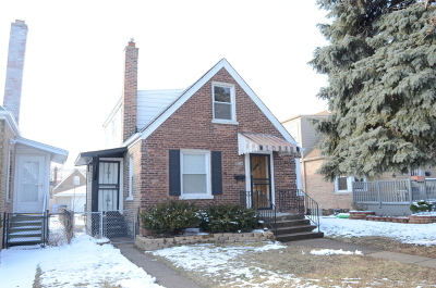 Chicago Single Family Home New: 10734 South Avenue M