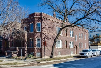 Chicago Condo/Townhouse New: 2252 West Grace Street #1E