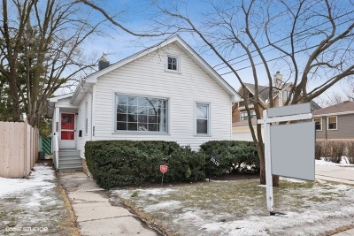 Evanston Single Family Home For Sale: 3210 Colfax Street