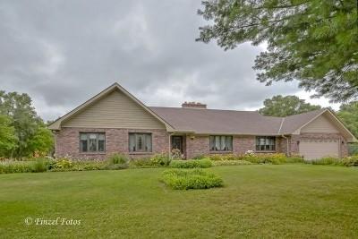Mc Henry County Single Family Home For Sale: 8101 White Oaks Road