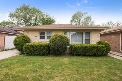 Wilmette Single Family Home For Sale: 537 Lavergne Avenue